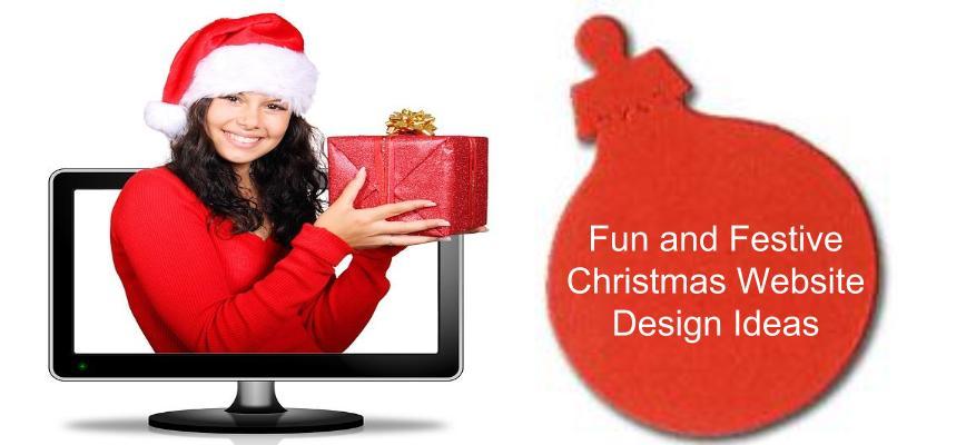 Christmas Website Design Ideas