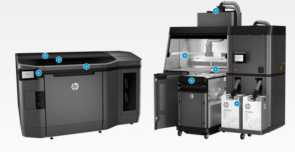 excell HP 3d print