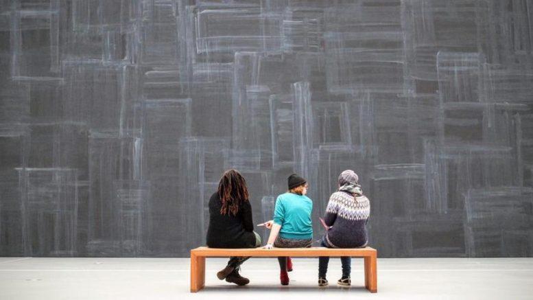 People, art gallery, art.